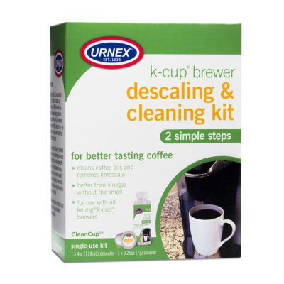 K-Cup Brewer Descaling & Cleaning Kit