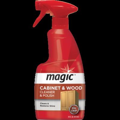 Cabinet & Wood Cleaner & Polish Spray